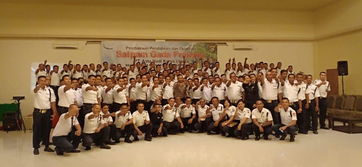 Pembukaan Pendidikan Satuan Pengamanan Gada Pratama Angkatan VI