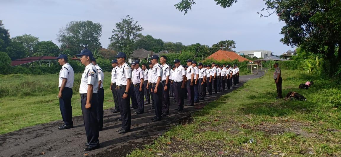 Kegiatan Satpam Gada Pratama Angkatan VI, Kamis 15 November 2018