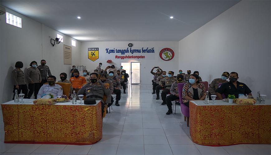 UPACARA HARI ULANG TAHUN SATPAM KE-40 TAHUN