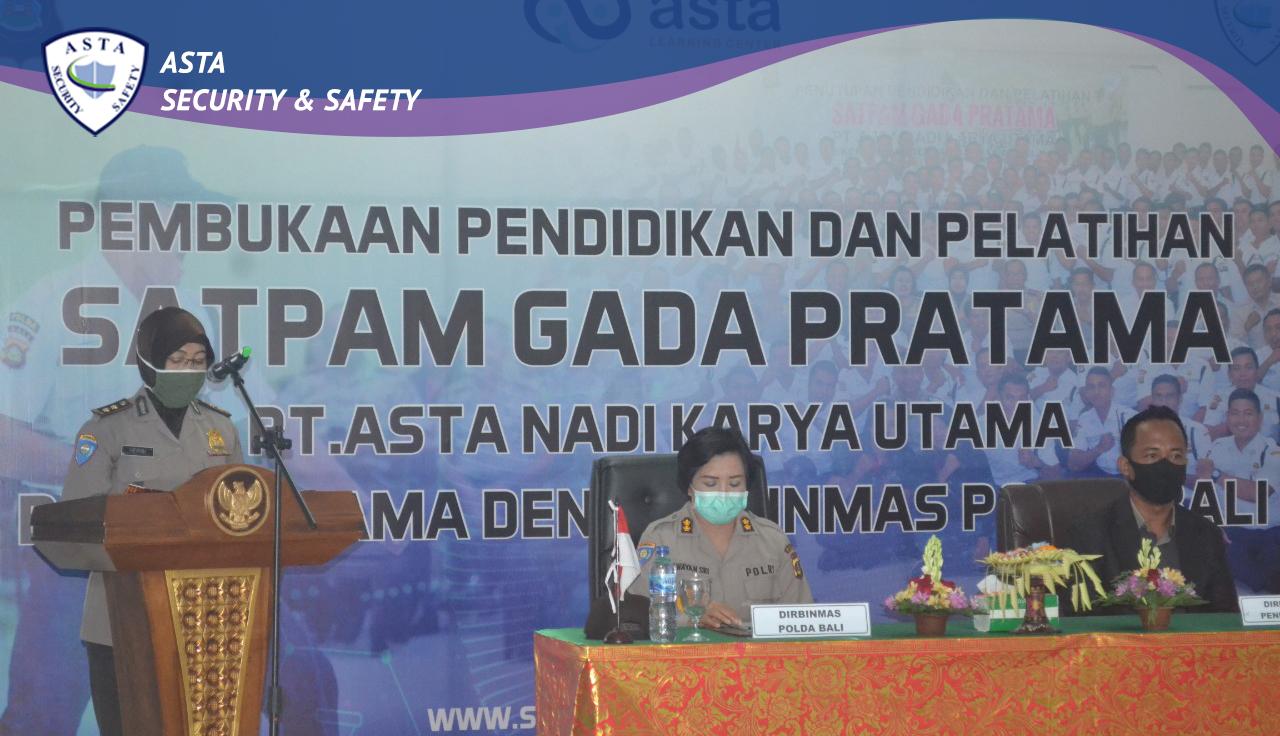 Acara Pembukaan Pendidikan Dasar Gada Pratama Gelombang XV